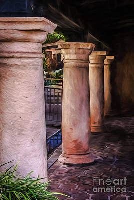 Photograph - Columns by Jon Burch Photography