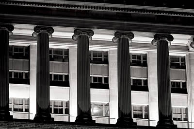 Photograph - Columns by Kevin Duke