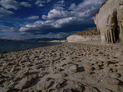 Crowley Lake Photograph - Columns Of Crowley by Michele James