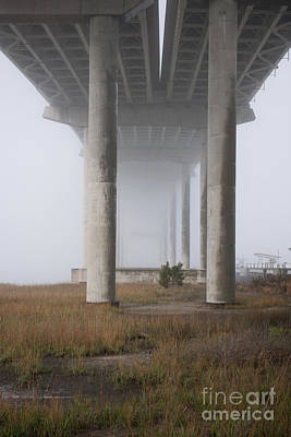 Photograph - Columns Of Fog by Dale Powell