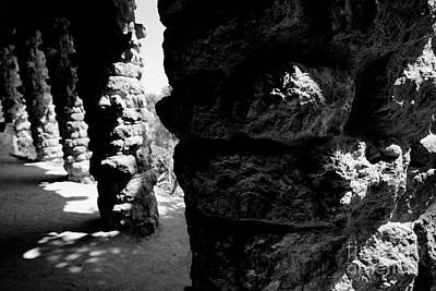 Photograph - Columns Of The Park Guell by Agusti Pardo Rossello