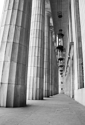 Photograph - Columns by Silvia Bruno