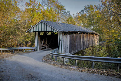 Photograph - Colville Covered Bridge by Jack R Perry
