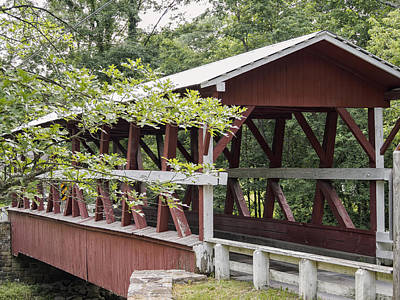 Photograph - Colvin Covered Bridge I by Marianne Campolongo