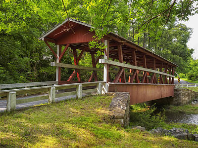 Photograph - Colvin Covered Bridge II by Marianne Campolongo
