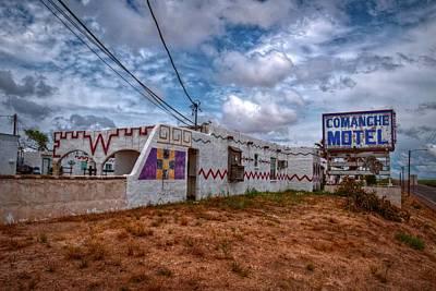 Comanche Motel Art Print