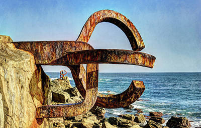 Photograph - Comb Of The Wind By Chillida 01 by Weston Westmoreland