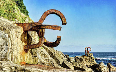 Photograph - Comb Of The Wind By Chillida 02 by Weston Westmoreland