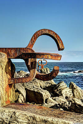 Photograph - Comb Of The Wind By Chillida 03 by Weston Westmoreland