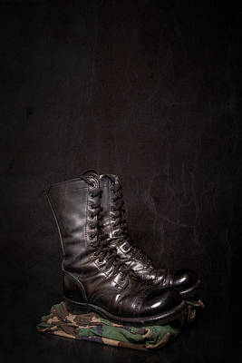 Bicycle Patents - Combat Boots and Camouflage by Erin Cadigan