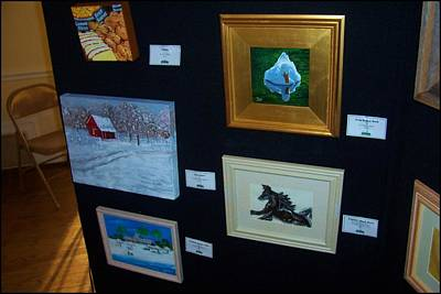 Gallatin Painting - Comer Mansion - Art Exhibit by Peggy Leyva Conley