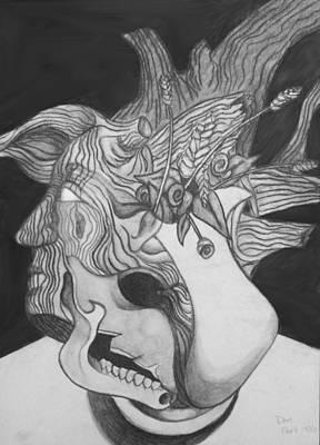 Combination Study Art Print by Dan Fluet