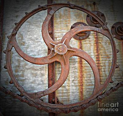 Photograph - Combine Gear by Chalet Roome-Rigdon