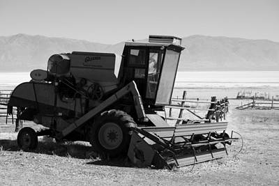 Photograph - Combine Harvester by Eric Tressler