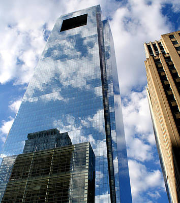 Comcast Center Art Print by Christopher Woods