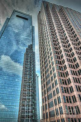 Photograph - Comcast Center Corporate Headquarters Philadelphia  by David Zanzinger