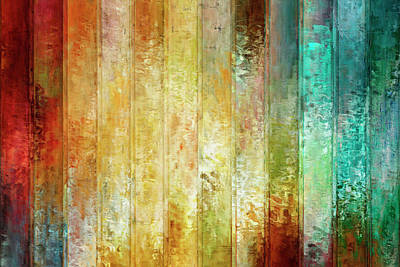 Contemporary Abstract Mixed Media - Come A Little Closer - Abstract Art by Jaison Cianelli