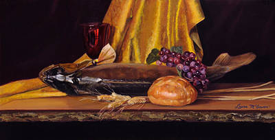 Painting - Come And Eat by Sister Laura McGowan