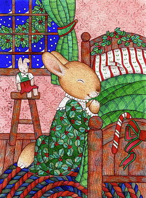 Come, Christmas, Come. Art Print by Julie Lynn Mammano