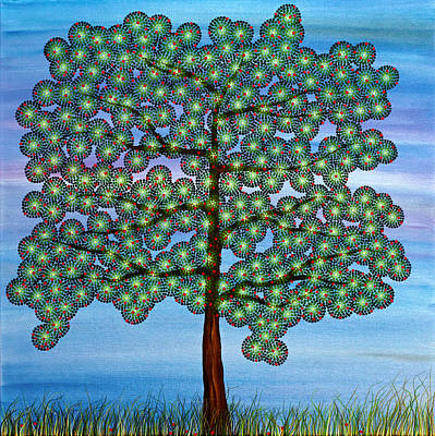 Painting - Come Climb My Branches by Andrea Youngman