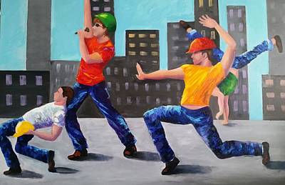 Painting - Come Dance At The Ymca by Rosie Sherman