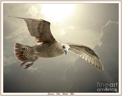 Photograph - Come Fly With Me by Mariarosa Rockefeller