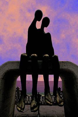 Sun Set Art Digital Art - Come Here Often by Paul Wear