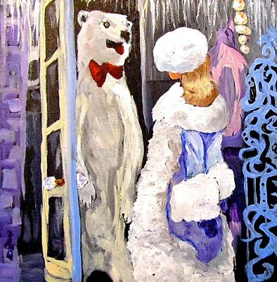 Painting - Come In And Get Out Of The Cold by Barbara O'Toole