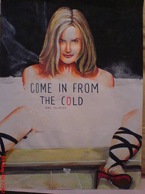 Alfred George Stevens Painting - Come In From The Cold by Sandeep Kumar Sahota