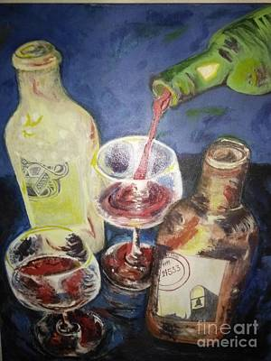 Sterling Painting - Come Into The Vineyard by Michelle Reid