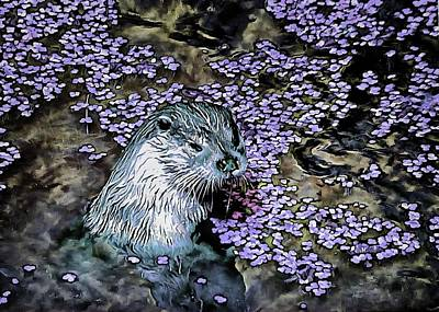 Digital Art - Come On In The Water Is Lovely by Dorothy Berry-Lound