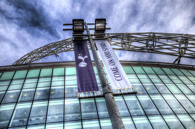 Photograph - Come On You Spurs by David Pyatt