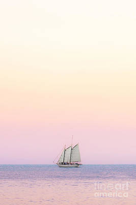 Beach Royalty-Free and Rights-Managed Images - Come Sail Away by Evelina Kremsdorf