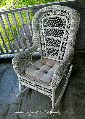 Come Sit A Spell Original by ARTography by Pamela Smale Williams