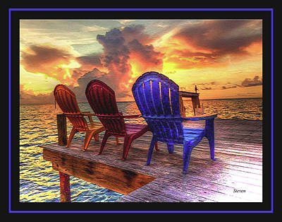 Photograph - Come Sit A While by Steven Lebron Langston