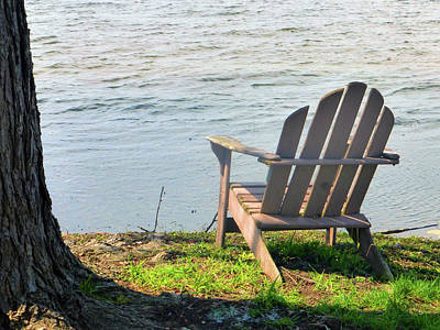 Photograph - Come Sit Awhile by Tina M Wenger