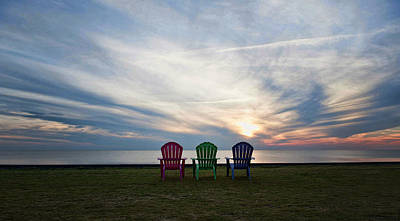 Photograph - Come Sit Beside Me by Kelley Nelson