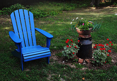 Art Print featuring the photograph Come Sit  by Joanne Coyle