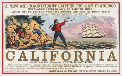 Come To California Art Print