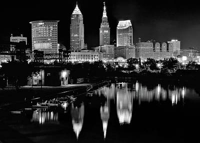 Photograph - Come To Cleveland by Frozen in Time Fine Art Photography