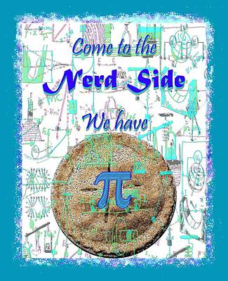 Mixed Media - Come To The Nerd Side by Michele Avanti