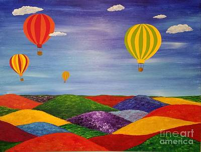 Painting - Come With Me by Jane Chesnut
