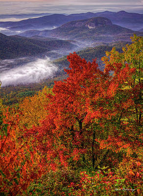 Photograph - Come With Me Looking Glass Rock Blue Ridge Mountain Parkway Art by Reid Callaway