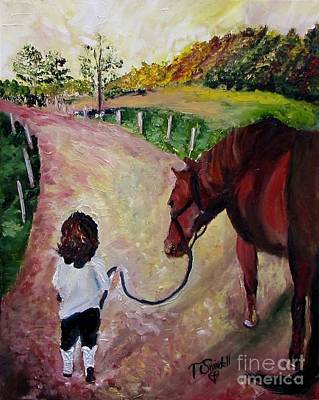 Painting - Come With Me by Tina Swindell