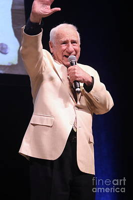 Photograph - Comedian Mel Brooks by Concert Photos
