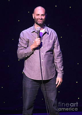 Photograph - Comedian Ted Alexandro by Concert Photos
