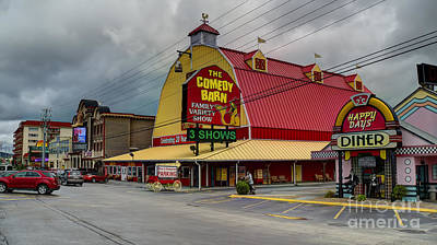 Photograph - Comedy Barn Pigeon Forge by Ules Barnwell