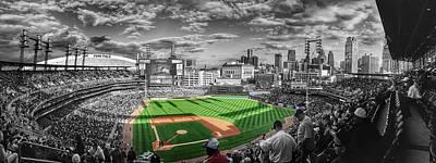 Photograph - Comerica Baseball Park - Detroit by Daniel Hagerman