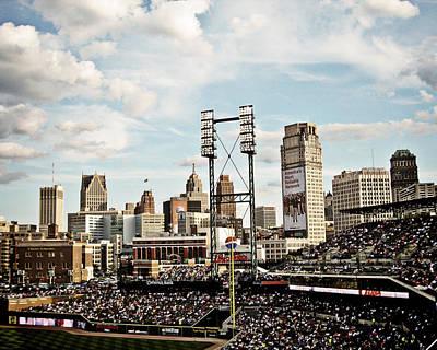 Detroit Tigers Photograph - Comerica Park Detroit by Alanna Pfeffer