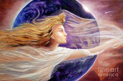 Painting - Comet Dreamer Voyage  by Michael Rock